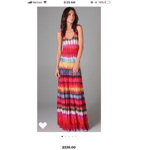 Torn by Ronny Kobo gorgeous tie-dye maxi dress
